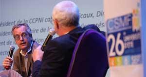 Première prise de parole publique du nouveau DG de la CNAM