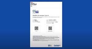 L'attestation de vaccination disponible via un téléservice de la CNAM