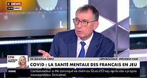 "Jean-Paul Ortiz : ""Il faut qu'on fasse un effort majeur sur la psychiatrie en ville."""