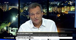 Guyane : Le Dr Jacques Breton appelle à la vaccination