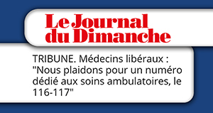 Les médecins libéraux plaident pour un numéro dédié aux soins ambulatoires, le 116-117