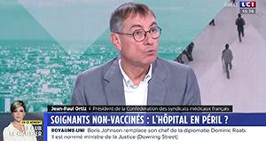 """Vaccination des soignants : """"On a une obligation d'exemple."""""""