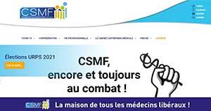 Découvrez le nouveau site de la CSMF !