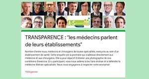 Les Spécialistes CSMF : Participez à l'enquête sur les établissements de santé !