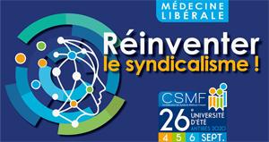 26e université d'été de la CSMF : Demandez le programme !